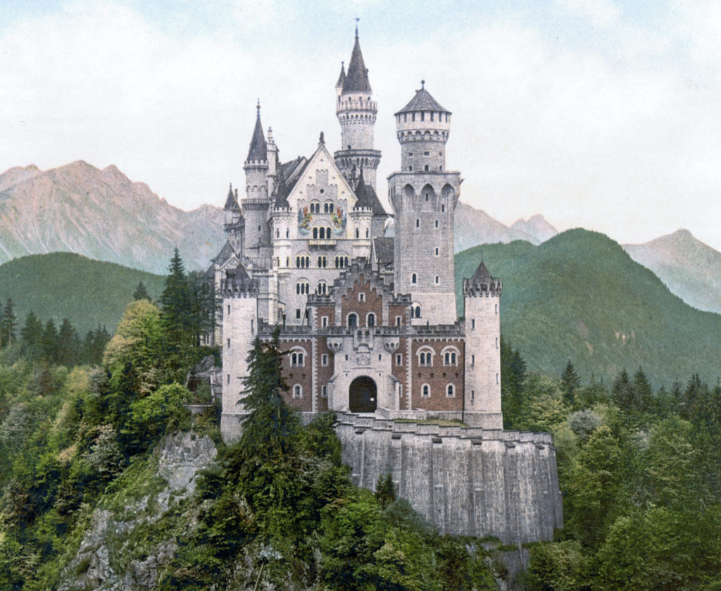 Neuschwanstein Castle illustrating e-book by Richard Klass called A Man's Home Is (Not Always) His Castle: RPAPL 881 License to Enter Neighbor's Property